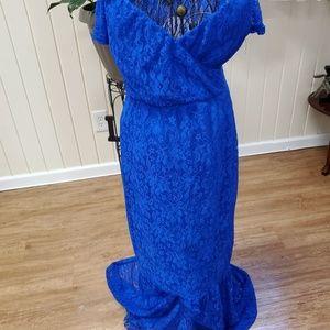 Dresses & Skirts - ROYAL BLUE mermaid tail SUMMER DRESS